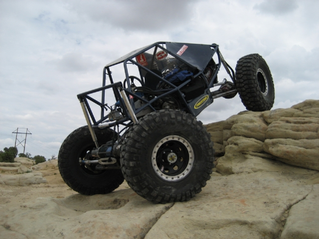 Farmington - NM - My buggy posing on some farmington turf