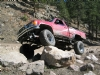 Showing off that solid axle under Zach's 86 Toy